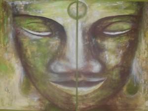 Foto Buddha grün